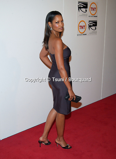 Garcelle Beauvais arriving at the 16th Annual Cinematheque Awards Honoring  Nicolas Cage at the Beverly Hilton  in Los Angeles. October 28, 2001. BeauvaisGarcelle01.JPG
