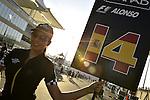 Abu Dhabi GP Impressions - Grid Girls<br />  Foto &copy; nph / Mathis