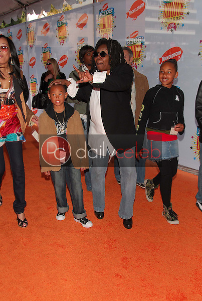 Whoopi Goldberg and Family<br />