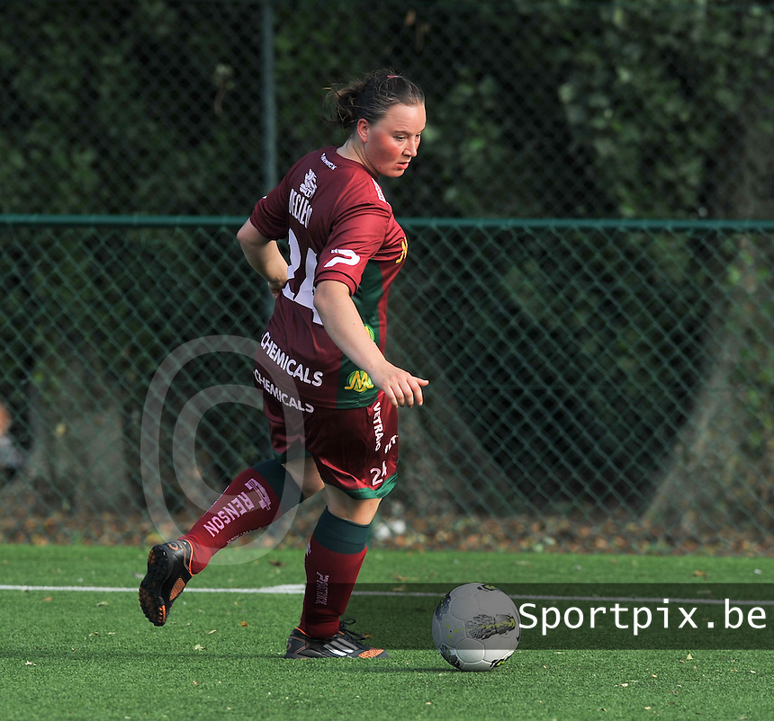 SV Zulte Waregem Dames : Liselore Carlier.foto DAVID CATRY / Vrouwenteam.be
