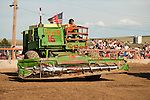 24th Lind Combine Destruction Derby, grain truck races, parade. Sponsored by the Lind, Wash., Lions Club.