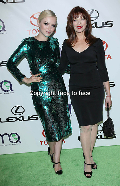 Francesca Eastwood, Frances Fisher at the 2012 Environmental Media Awards held on the Warner Brothers lot in Los Angeles, California on 29.9.2012..Credit: StarMaxInc/face to face - Hungary, Bulgaria, Croatia, Russia, Romania and Moldavia, Slovakia, Slovenia, Bosnia & Herzegowina, Serbia, Ukraine and Belaurus, Lithuania, Latvia, Estonia, Australia, Spain, Taiwan, Singapore, China, Malaysia and Thailand rights only -