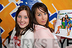 BEST FRIENDS: Listowel friends Ciara McNamara and Elaine Enright who are one of five couples who are in the finals of the Best Friends competition promoted by the teenage magazine KISS.