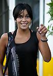 Motorsport / Formula 1: Grand Prix Italy 2006, Raquel del Rosario girlfriend of Fernando Alonso (ESP, Renault F1 Team)