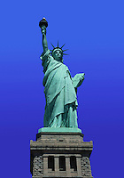 The Statue of Liberty. Staten Island, New York.