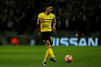 Mahmoud Dahoud of Borussia Dortmund during Tottenham Hotspur vs Borussia Dortmund, UEFA Champions League Football at Wembley Stadium on 13th February 2019