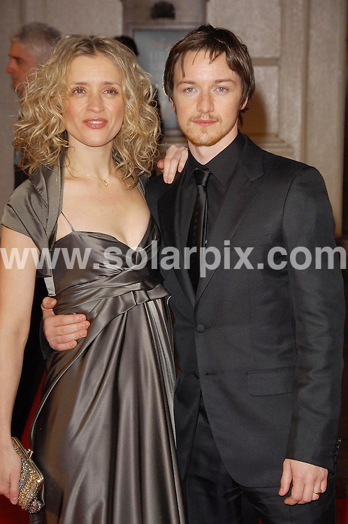 **ALL ROUND PICTURES FROM SOLARPIX.COM**.**WORLDWIDE SYNDICATION RIGHTS**. The British Academy Film Awards(BAFTA) at the Royal Opera House in London last night..This Pic:James Mcavoy..JOB REF:3344 MSR    DATE: 11.2.07.**MUST CREDIT SOLARPIX.COM OR DOUBLE FEE WILL BE CHARGED**