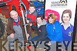 ENTREPRENEUR: Marie Martin (Dingle) who launched her Safe Scrup Sprayer at the Abbeydorney Ploughing Competition on Sunday with her family, L-r: Padraig,Patrick, Marie and  Edith Martin.........