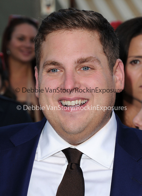 Jonah Hill  attends The Columbia Pictures' 22 JUMP STREET Premiere held at The Regency Village Theatre in Westwood, California on June 10,2014                                                                               © 2014 Hollywood Press Agency