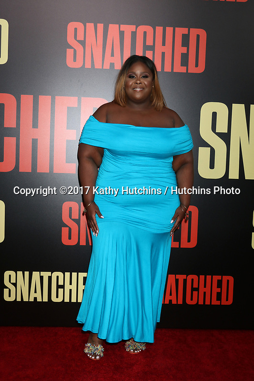 "LOS ANGELES - MAY 10:  Raven Goodwin at the ""Snatched"" World Premiere at the Village Theater on May 10, 2017 in Westwood, CA"