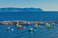FIshing boats. Cape Breton Island.<br /><br />Nova Scotia<br />Canada