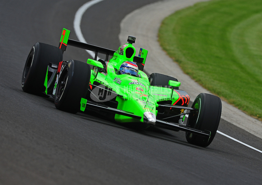 May 19, 2011; Indianapolis, IN, USA; Indy Car Series driver Danica Patrick during practice for the Indy 500 at the Indianapolis Motor Speedway. Mandatory Credit: Mark J. Rebilas-