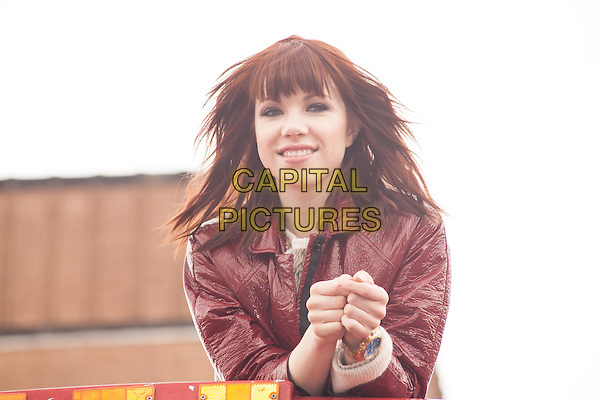 NEW YORK, NY -  FEBRUARY 25: Multi-Platinum recording artist  Carly Rae Jepsen honored by Ride of Fame at Pier 78 on February 25, 2014 in New York City, NY., USA.<br /> CAP/MPI/COR<br /> &copy;Corredor99/ MediaPunch/Capital Pictures