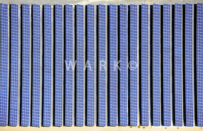 solar panels aerial