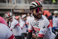 Fernando Gaviria (COL/UAE-Emirates)<br /> <br /> 81st Gent-Wevelgem 'in Flanders Fields' 2019<br /> One day race (1.UWT) from Deinze to Wevelgem (BEL/251km)<br /> <br /> ©kramon