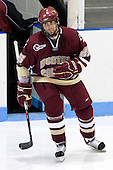 Nick Petrecki (BC 26) - The Boston College Eagles and Providence Friars played to a 2-2 tie on Saturday, March 1, 2008 at Schneider Arena in Providence, Rhode Island. Nick Petrecki, freshman defenseman for the Boston College Eagles, was drafted 28th overall in 2007 by the San Jose Sharks.