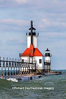 64795-02807 St. Joseph North Pier Lighthouses St. Joseph, MI