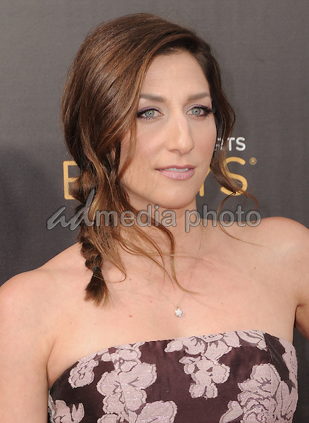 11 September 2016 - Los Angeles, California. Chelsea Peretti. 2016 Creative Arts Emmy Awards - Day 2 held at Microsoft Theater. Photo Credit: Birdie Thompson/AdMedia