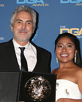 LOS ANGELES - FEB 2:  Alfonso Cuaron, Yalitza Aparicio at the 2019 Directors Guild of America Awards at the Dolby Ballroom on February 2, 2019 in Los Angeles, CA