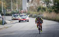 tuck position<br /> <br /> 98th Milano - Torino 2017 (ITA) 186km
