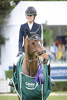 Spanish rider Marta Ortega Perez