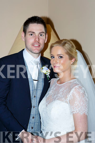 Tracy O'Leary, Cahirlodge, Aghadoe, Killarney and Noel Ward, Carrick on Shannon Co Leitrim, son of John and Maura, who were married on Saturday in St Marys Cathedral Killarneu, Fr Kieran O'Brien officiated at the ceremony, best man was Sean Mard, groomsmen were Raymond Ward and Liam Ward, bridesmaids were Karen O'Leary, Orla Ring and Reidin O'Connor, flowergirls were Isabele Jordan, page boy was Evan Ward, the reception was held in the Brehon Hotel  and the couple will reside in Carrick on Shannon