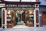 Lewis Stagnetto duty free shop, Gibraltar, British overseas territory in southern Europe