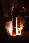 Electrodes on an Electric Arc Furnace