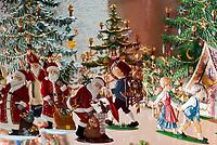 Oesterreich, Salzburger Land, Stadt Salzburg: Weihnachtsdekoration, Zinnfiguren | Austria, Salzburger Land, Salzburg: Christmas decoration, tin figures
