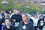 Photos of the beginning of the Quad Cities Marathon 2010.