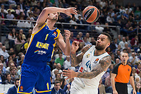 Real Madrid Jeffery Taylor and Khimki Moscow Alexey Shved during Turkish Airlines Euroleague match between Real Madrid and Khimki Moscow at Wizink Center in Madrid, Spain. November 02, 2017. (ALTERPHOTOS/Borja B.Hojas) /NortePhoto.com