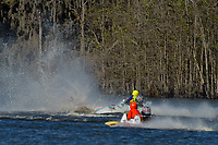 Frame 6: Serena Durr 96-F, Erin Pittman 6-H crash. (Outboard Hydroplanes)