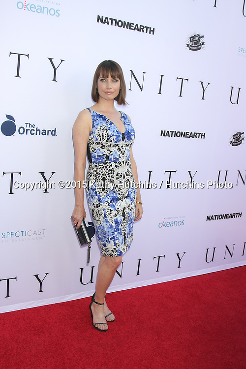 """LOS ANGELES - JUN 24:  Julie Ann Emery at the """"Unity"""" Documentary World Premeire at the Director's Guild of America on June 24, 2015 in Los Angeles, CA"""