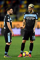 Riza Durmisi and Luis Alberto of Lazio during the Serie A 2018/2019 football match between Frosinone and Lazio at stadio Benito Stirpe, Frosinone, February 4, 2019 <br />  Foto Andrea Staccioli / Insidefoto