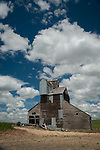 An old grainery in the Palouse Valley