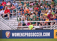 Fans watch a WPS match between Sky Blue FC and St. Louis Athletica at Anheuser-Busch Soccer Park, in St. Louis, MO, June 7, 2009. Athletica won the match 1-0.