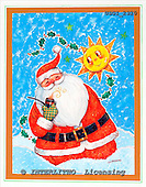 GIORDANO, CHRISTMAS SANTA, SNOWMAN, WEIHNACHTSMÄNNER, SCHNEEMÄNNER, PAPÁ NOEL, MUÑECOS DE NIEVE, paintings+++++,USGI2320,#X#
