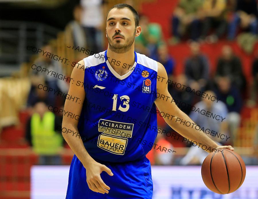 Kosarka ABA League season 2015-2016<br /> Partizan v MZT Skoplje<br /> Djordje Drenovac<br /> Beograd, 06.10.2015.<br /> foto: Srdjan Stevanovic/Starsportphoto&copy;