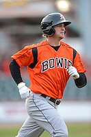 Bowie Baysox outfielder Caleb Jospeh #17 during a game against the Erie Seawolves on April 23, 2013 at Jerry Uht Park in Erie, Pennsylvania.  Erie defeated Bowie 4-1.  (Mike Janes/Four Seam Images)