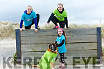 Launching the BANNA BEAST CHALLENGE, a military style obstacle challenge over 7 km with over 20 fun and challenging obstacles which will take place on APRIL 1st & 2nd 2017 on Banna Beach,  Erin McLoughlin with Cody the Beast,  Michelle O'Shea and Mairead McMahon