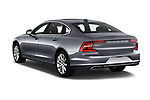 Car pictures of rear three quarter view of a 2018 Volvo S90 Momentum 4 Door Sedan angular rear
