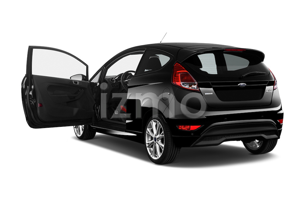Car images of a 2014 Ford FIESTA Sport 3 Door Hatchback 2WD Doors