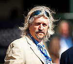 HALLANDALE BEACH, FL - JANUARY 27: Steve Asmussen on Pegasus World Cup Invitational Day at Gulfstream Park Race Track on January 27, 2018 in Hallandale Beach, Florida. (Photo by Carson Dennis/Eclipse Sportswire/Getty Images)