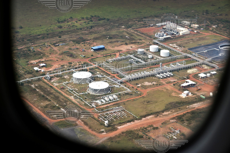 An oil production installation in Bentiu.
