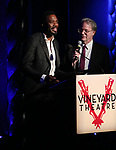 Colman Domingo and Dougles Aibel during the Vineyard Theatre Gala honoring Colman Domingo at the Edison Ballroom on May 06, 2019 in New York City.