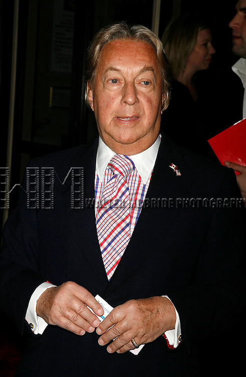 Arnold Scassi attends a dinner and silent auction hosted by designer Zac Posen, Royalton and Samsung benefiting TeachersCount at the Royalton Hotel November 5, 2007 in New York City.