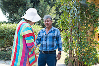 Mum with Trini. At San Jose with the parenta and MargieCuatepetitla, San Jose de los Laureles, Tlayacapan, Morelos, Mexico