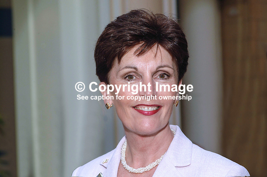 Jacqueline Foster, UK, Conservative Party, MEP, England. Taken at Conservative Conference in Blackpool. Ref: 200110083992...Copyright Image from Victor Patterson, 54 Dorchester Park, Belfast, UK, BT9 6RJ..Tel: +44 28 9066 1296.Mob: +44 7802 353836.Voicemail +44 20 8816 7153.Skype: victorpattersonbelfast.Email: victorpatterson@mac.com.Email: victorpatterson@ireland.com (back-up)..IMPORTANT: If you wish to use this image or any other of my images please go to www.victorpatterson.com and click on the Terms & Conditions. Then contact me by email or phone with the reference number(s) of the image(s) concerned.