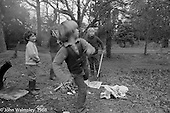 Kids having fun in the grounds, Summerhill school, Leiston, Suffolk, UK. 1968.