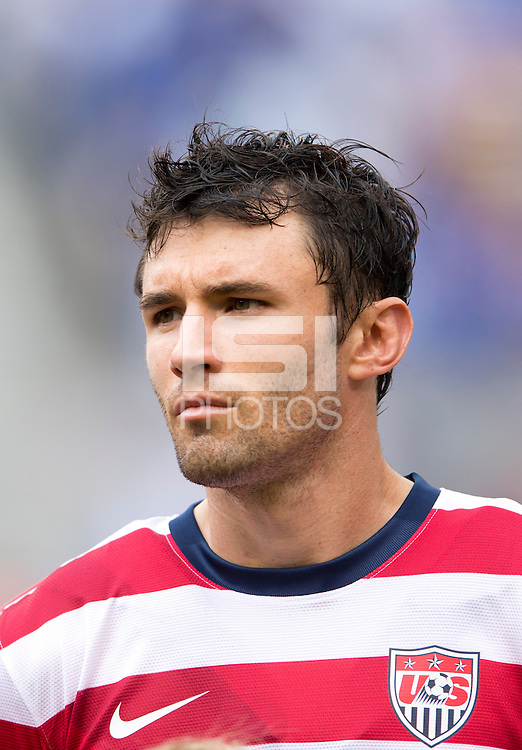 Michael Parkhurst.  The United States defeated El Salvador, 5-1, during the quarterfinals of the CONCACAF Gold Cup at M&T Bank Stadium in Baltimore, MD.